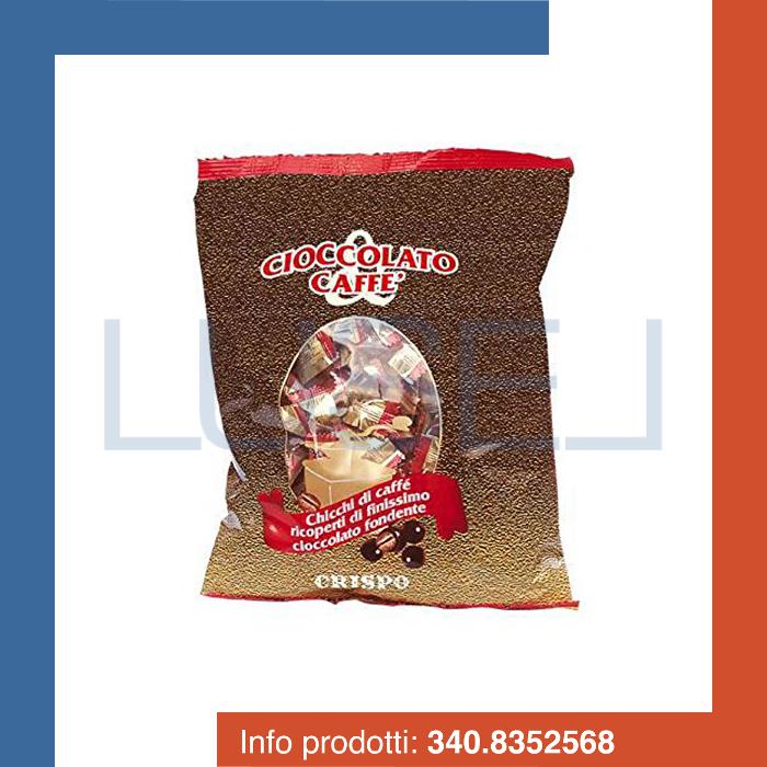 GR 500 Cioccolatini cortesia, chicchi di caffè ricoperti di cioccolato fondente