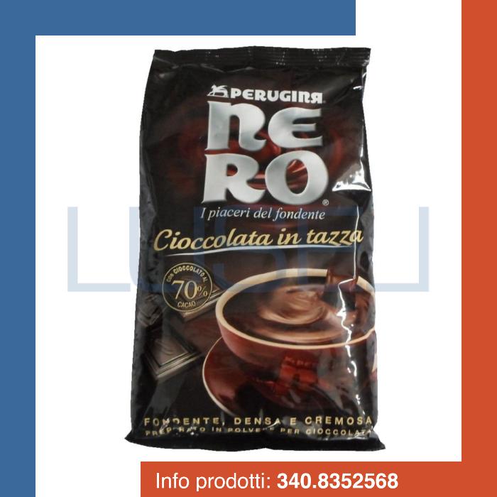 Kg 1 cioccolata fondente Perugina preparato per cioccolata calda hot chocolate