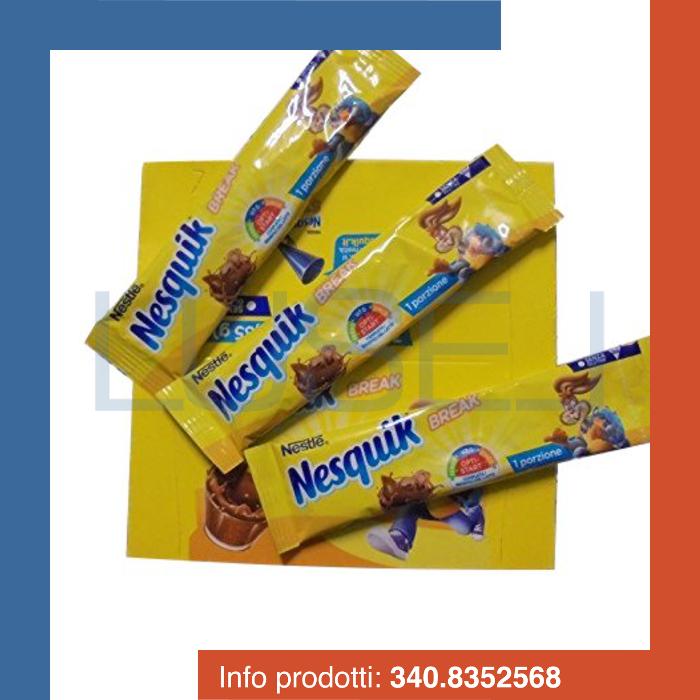 PZ 56 Bustine monodose Nesquik, preparato solubile per bevanda a base di cacao magro e vitamine