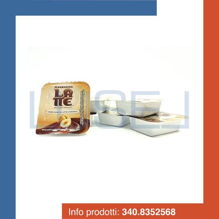 PZ 80 Vaschetta monoporzione di crema al cacao latte e nocciole Perugina
