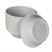 PZ 100 Piatto fondo bio ecologico da cm 15 in polpa di cellulosa