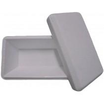 PZ 60 Vaschette per gelato bianco white termiche da ml 1000 in polistirolo per alimenti con coperchio