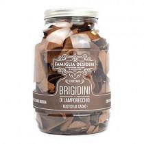 gr 250 sfogliette di santa brigida brigidini croccanti gustosi al cacao famiglia