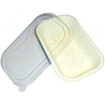 PZ 25 Vaschetta bio da ml 500 in polpa di cellulosa per asporto alimenti