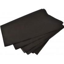 PZ 200 Tovaglioli due veli in ovatta nero black da cm 38x38 salvietta paper napkin tovagliolo da bar