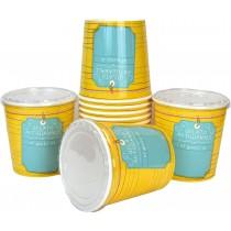 pz 25 barattolo cc 1000 + pz 25 coperchio barattolo termico per gelato