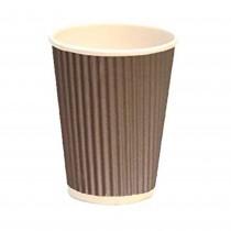 PZ 100 Bicchieri termici da ml 350 in cartone ideali per caffe' e bevande calde
