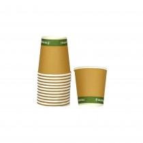 PZ 100 Bicchieri per caffè da 3 oz (cl 7) compostabili biodegradabili coffee cup