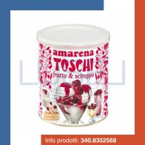 GR 1000 Amarene intere in sciroppo per coppe gelato e dolci