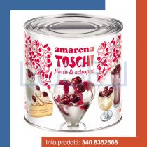 GR 2750 Amarene intere in sciroppo per coppe gelato e dolci