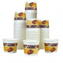 pz 100 bicchiere in carta con decorazioni caffe' cl 7