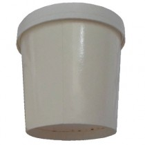 PZ 100 Bicchieri in cartone termici da cc 500 con coperchio per alimenti