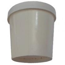 PZ 100 Bicchieri in cartone termici da cc 1000 con coperchio per alimenti