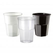 PZ 60 Bicchiere piccolo da cc 270 in plastica rigida usa e getta per cocktail