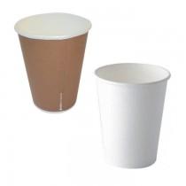 PZ 100 Bicchieri di carta da ml 250 (9 OZ) per cappuccino caffe'