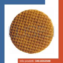 PZ 1000 Cialda per gelato rotonda Biscotondo