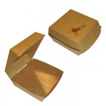 PZ 50 Box in cartoncino alimentare hamburger per panino maxi formato grande per alimenti da asporto