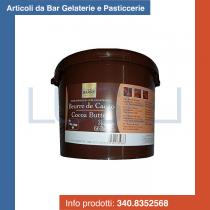 KG 3 Burro di cacao Barry deodorizzato in pastiglie puro al 100%