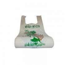 PZ 150 Buste in plastica biologica cm 23 x 50 shopper linea bio-eco per alimenti