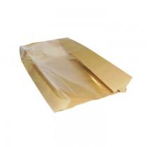 PZ 100 Busta in carta con finestra sacchetto astuccio per asporto alimenti