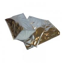 Pz 10 Busta termica cm 28 x 47 colore argento per trasporto di alimenti congelati