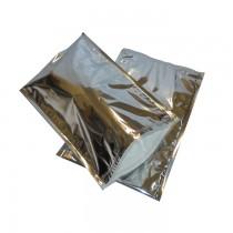 Pz 10 Busta termica cm 23 x 35 colore argento per trasporto di alimenti congelati