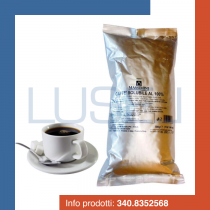 GR 500 Caffe' solubile in polvere istantaneo puro 100% instant pure coffee