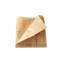 PZ 1000 Sacchetti in carta antigrasso per alimenti da asporto aperti su 2 lati