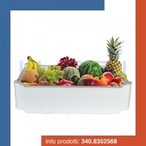 PZ 1 Scatola termica cassa bianca rettangolare porta frutta e alimenti in polistirolo