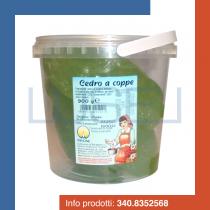 GR 900 Cedro a coppe candito di origine italiana per dolci cannoli e cassate