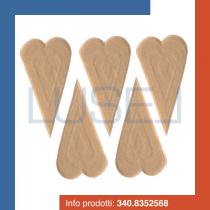 PZ 200 Cialda per gelato a forma di cuore ventaglio