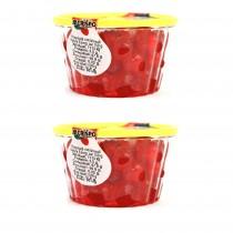 Gr 400 di ciliegie rosse candite ideali per la decorazione dolci e cassate