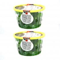 gr 400 di ciliegie verdi candite ideali per la decorazione dolci e cassate e pasticcini