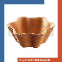 PZ 72 Cialda media/grande per gelato a forma di conchiglia