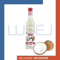 GR 740 Sciroppo senza glutine al cocco Toschi coconut syrup per granite e cocktail in bottiglia