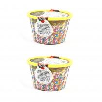 gr 400 di codette di zucchero colorate per dolci, gelati, dessert, pasticcini