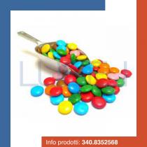 KG 1 Confettini multicolore (smarties) confetti Crispo al cioccolato