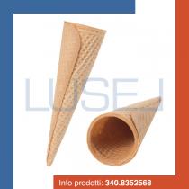 PZ 200 cono per gelato cialda per gelato grande in cialda arrotolata Cono 2000 croccante
