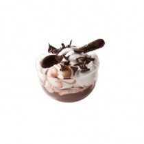 PZ 50 Coppetta Daniela trasparente da cc 115 per yogurt, dessert, dolci, mousse semifreddi