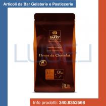 KG 5 Gocce di cioccolato fondente Barry Drops de Chocolat