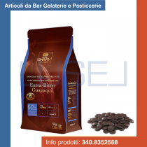 KG 5 Cioccolato fondente Barry Extra Bitter Guayaquil in pastiglie