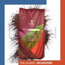 KG 2,5 Cacao Barry in polvere 22/24% Extra Brute, polvere di cioccolato extra scuro