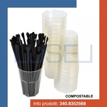 kit-promozionale-pz-40-bicchiere-trasparente-compostabile-ecologico-da-300-cc-pz-250-cannucce-cucchiaio-nere-biodegradabili