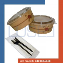 kit-promozionale-pz-50-insalatiera-rotonda-in-cartoncino-coperchio-pz-50-bis-di-posate-compostabili