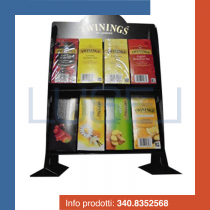 PZ 250 Bustine assortite di the Twinings con stand espositore