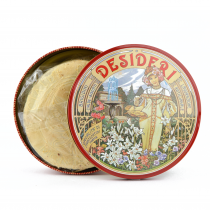 GR 450 Almond waffle cialde di Montecatini alla mandorla - cialda croccate confezione in latta