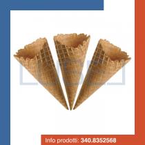 PZ 190 Cialda Leonardo per gelato arrotolata grande cialdone croccante per gelato