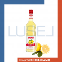 GR 1300 Sciroppo al limone Toschi lemon syrup per granite e cocktail in bottiglia