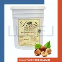 """KG 1 pasta """"chiara"""" nocciola Piemonte I.G.P. Porello ideale per gelateria e pasticceria"""