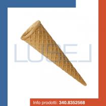 Pz 336 Cono wafer piccolo in cialda stampata, cono per gelato